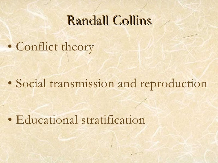 Conflict Theory Collins