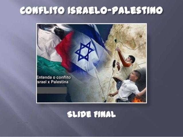 Conflito israel x palestina