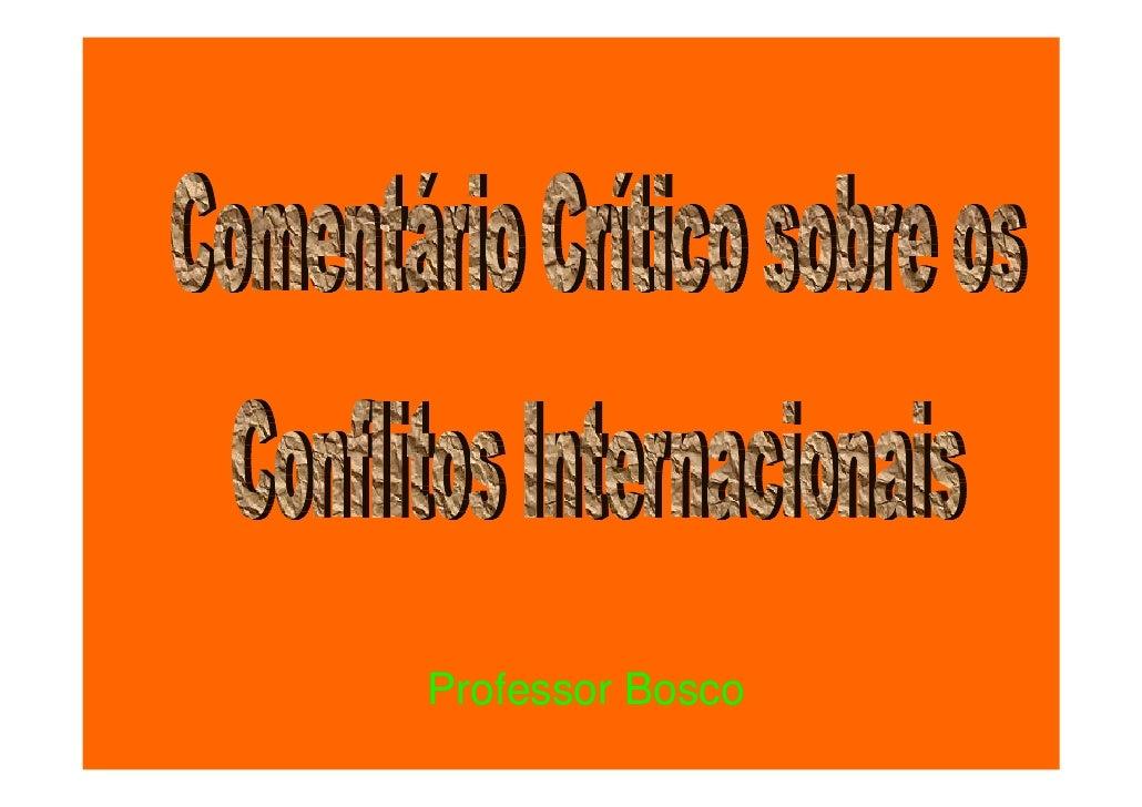 Conflitos Convesti