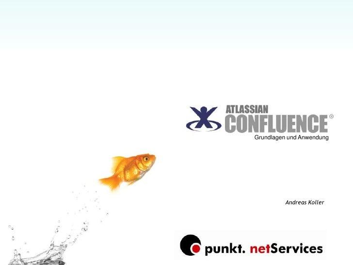 Atlassian Confluence Wiki Grundlagen
