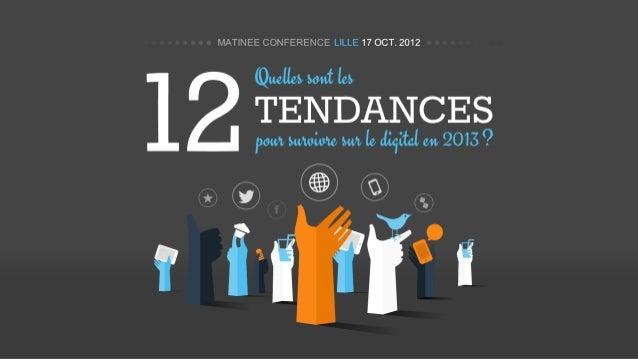 12 Tendances en Marketing Digital pour 2013