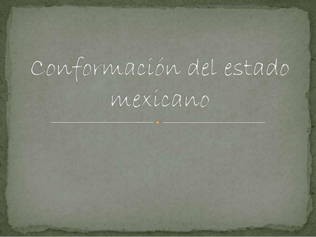 Política, economía y sociedad.                     Situación generalDespués de que México quedó establecido como una nació...