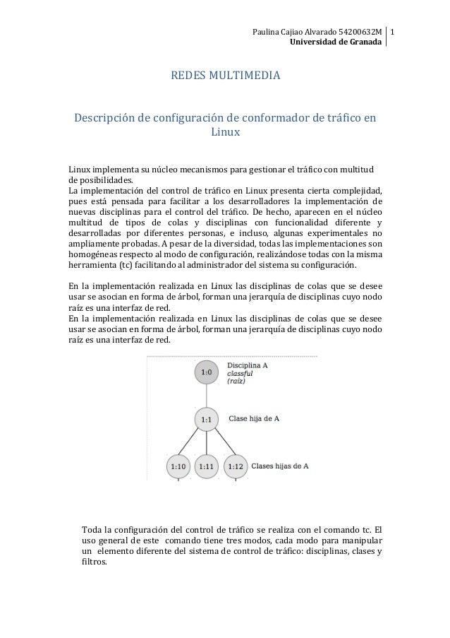 Paulina  Cajiao  Alvarado  54200632M   1   Universidad  de  Granada           REDES  MULTIMEDIA   ...