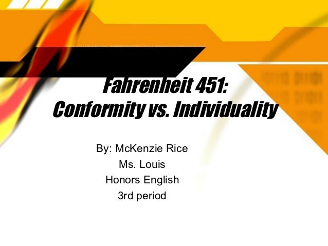 Thesis on conformity