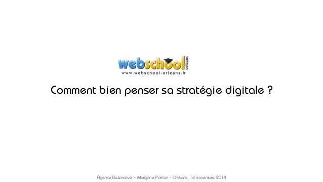 Conférence Stratégie Digitale - 18 Novembre 2014 - Buzznative