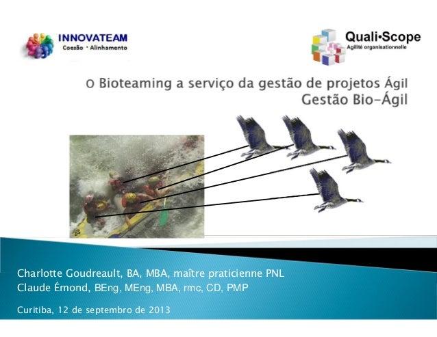 Conference on Bio-Agile project management (en portuguese)