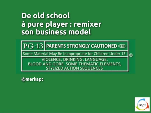 De old school, à pure player : remixer son business model