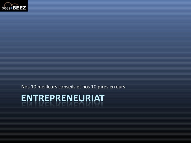 Conférence entrepreneuriat Epitech
