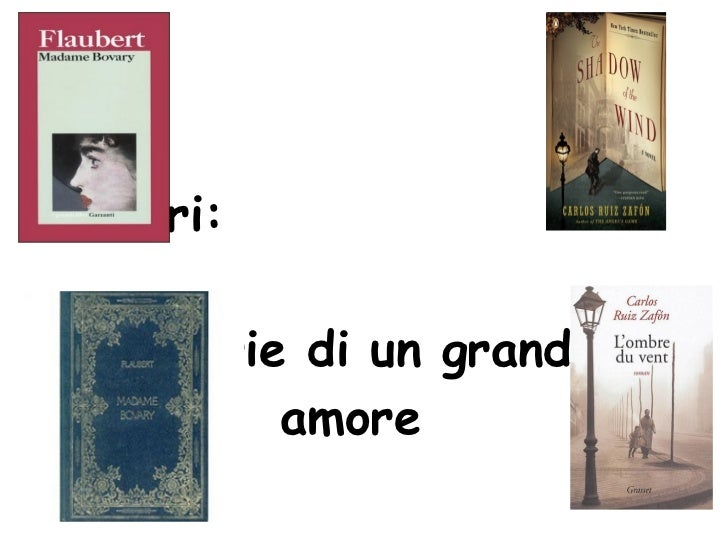 I libri:   storie di un grande amore       Belli Benedetta