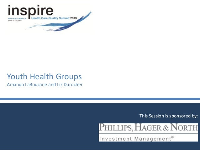 Youth Health Groups