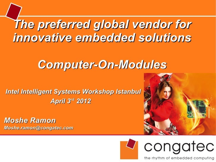Congatec_Global Vendor for Innovative Embedded Solutions_Istanbul