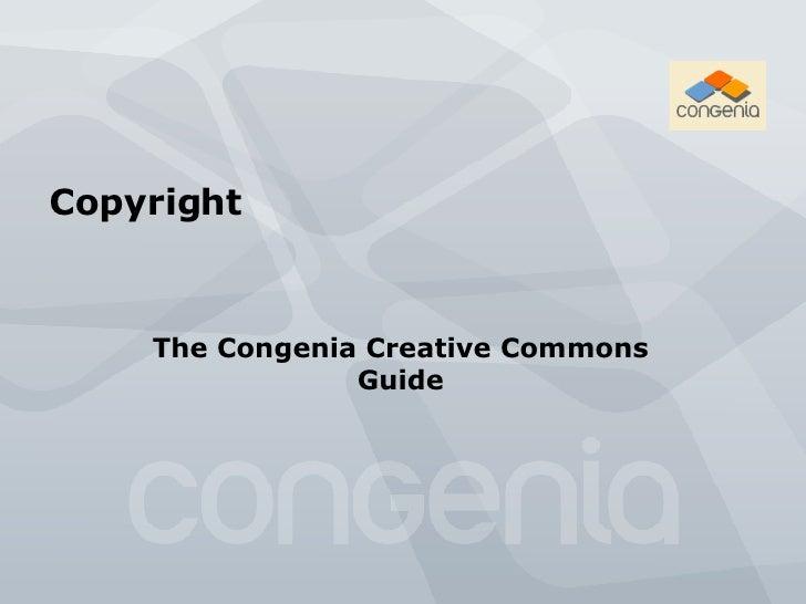 Congenia Copyright Guide