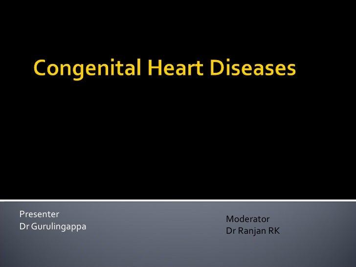Presenter Dr Gurulingappa Moderator Dr Ranjan RK
