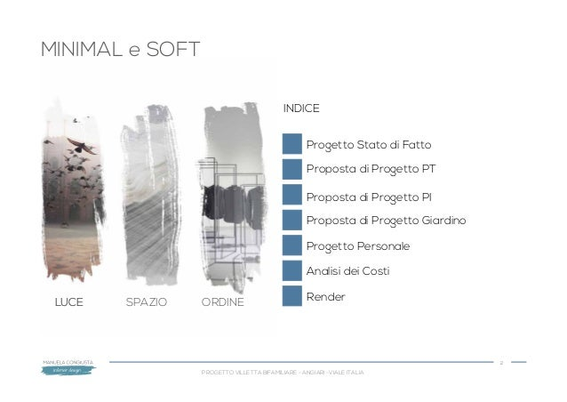 Congiusta esame corso interior design annuale progetto finale con sez?