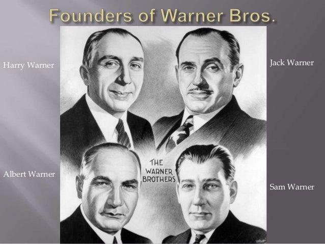 Image result for the four warner bros - sam, jack, albert and harry