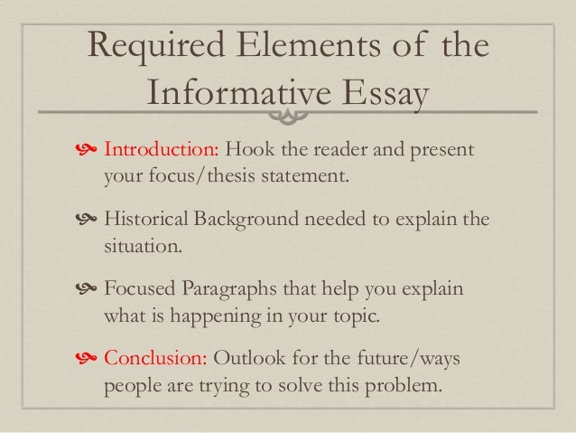 How to Create a Thesis Statement for an Informative Essay