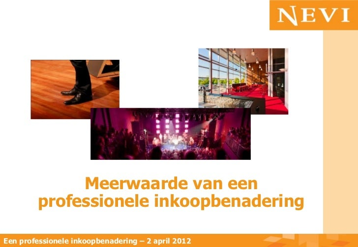 Congres Horeca In De Podiumkunsten   2 April 2012
