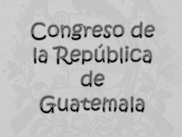 Congreso de la republica guadalupe