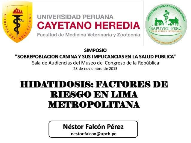"""SIMPOSIO """"SOBREPOBLACION CANINA Y SUS IMPLICANCIAS EN LA SALUD PUBLICA"""" Sala de Audiencias del Museo del Congreso de la Re..."""