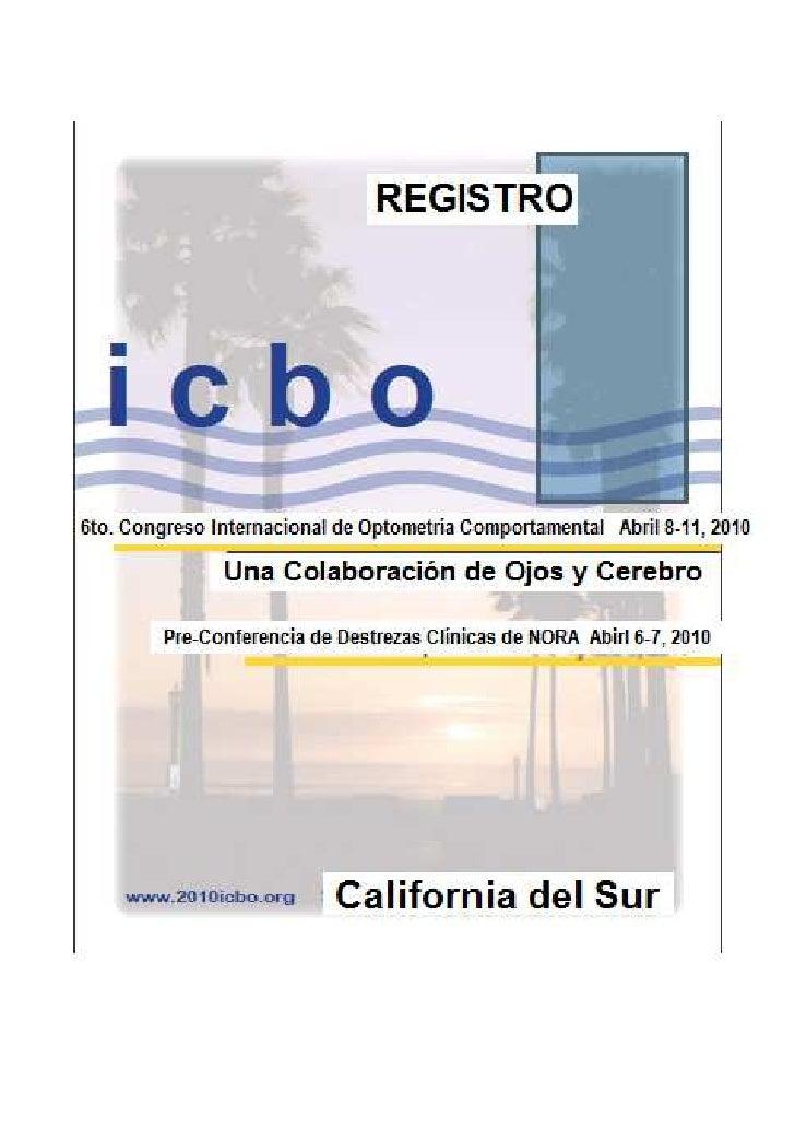 Congreso Icbo