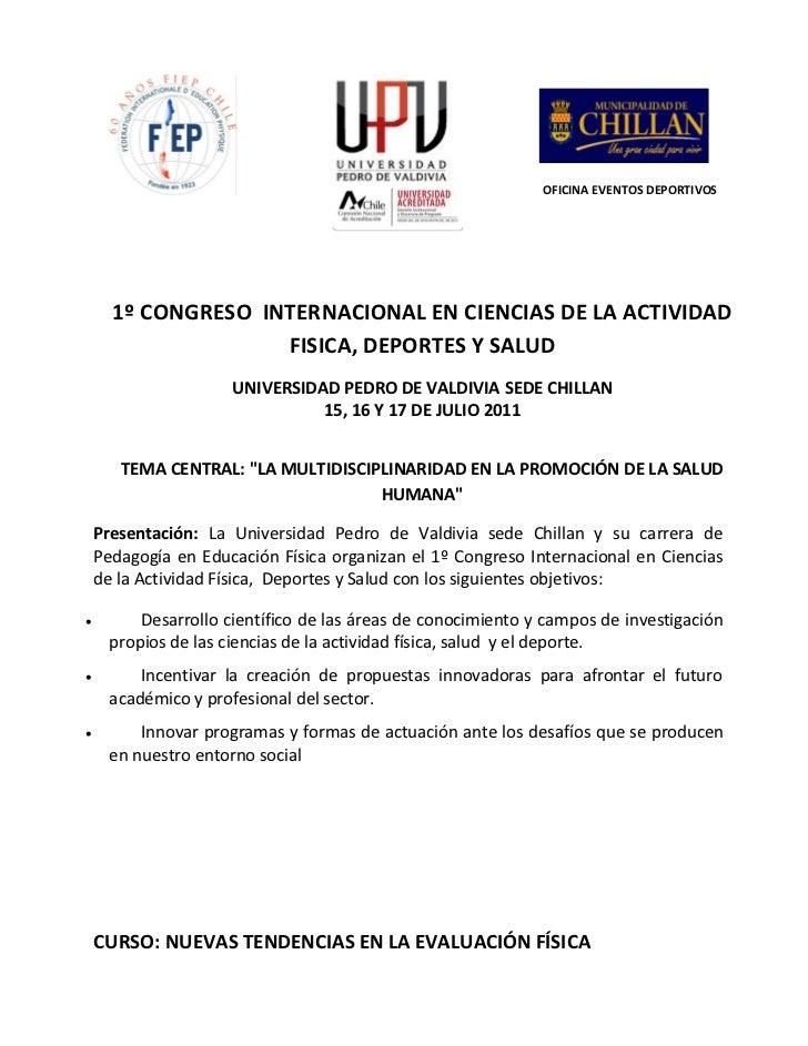 Congreso  internacional upv 2011