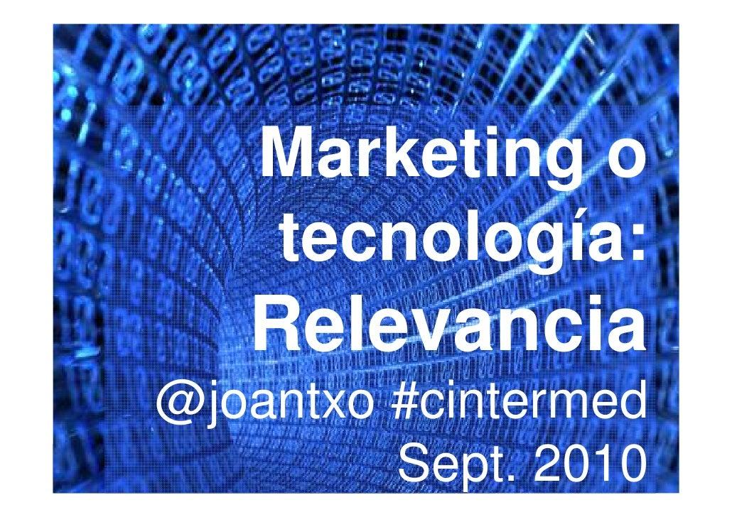 Congreso internet mediterraneo 2010