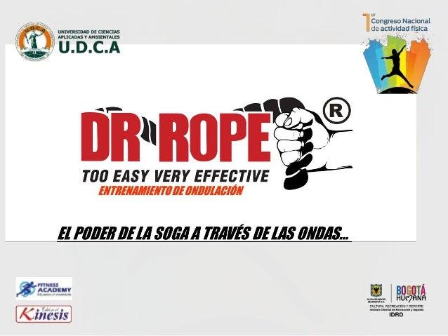 ESTRUCTURA DR.ROPE INDOOR TRAINNING