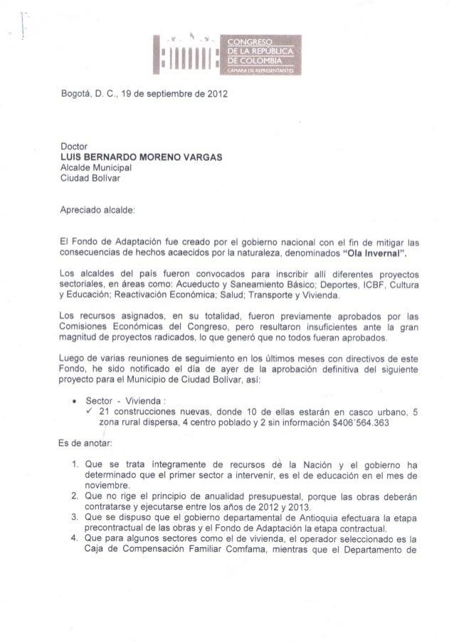 CONGRESO                                       DE LA REPUBLICA                       ¡Illllll        DE COLOMBIA          ...