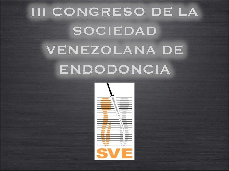 III CONGRESO DE LA SVE                                   JUEVES                                    VIERNES                ...