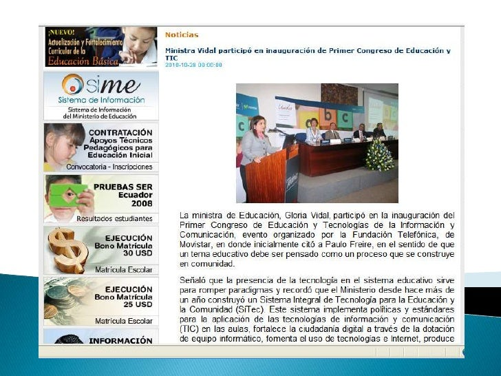    El evento presencial celebrado el 28 de octubre en Quito contó con    conferencistas de renombre latinoamericano como ...