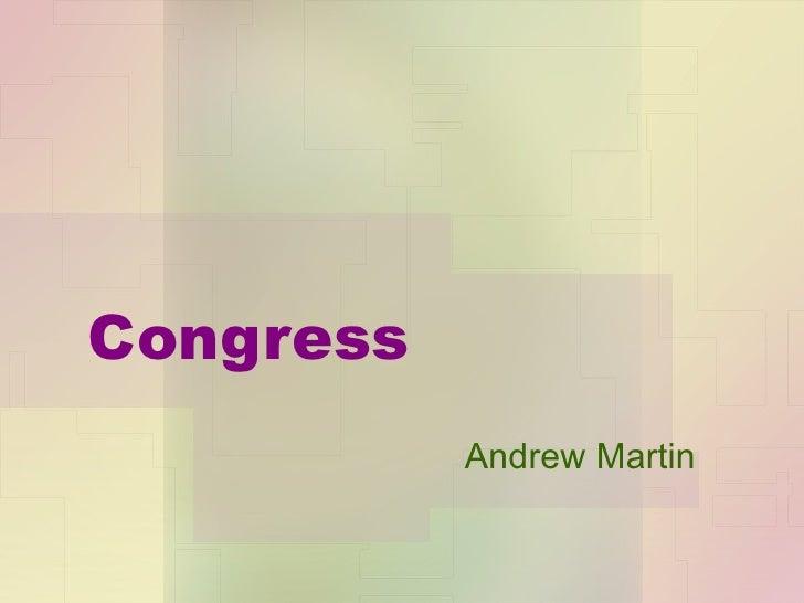 Congress Andrew Martin
