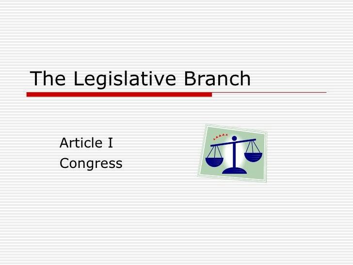 Congress Powerpoint