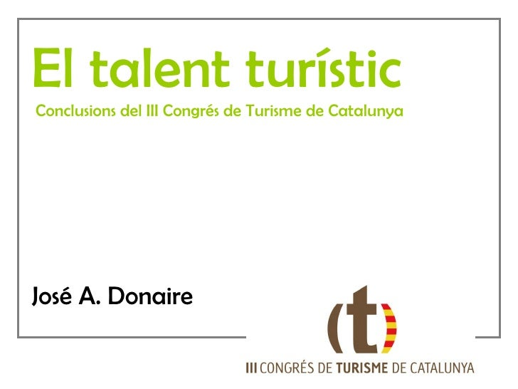 Congres Turisme Catalunya