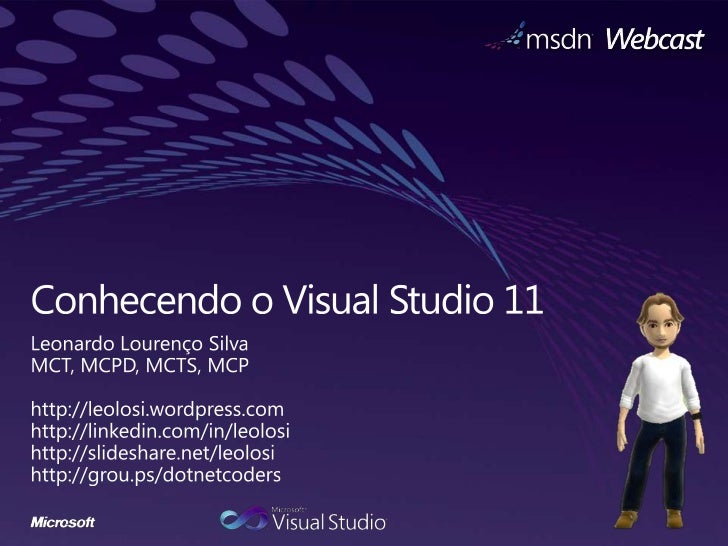 Conhecendo o Visual Studio 11