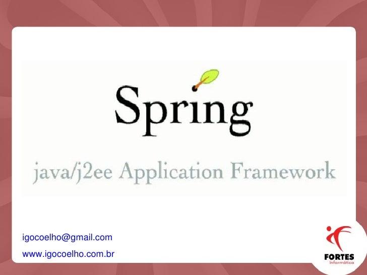 Conhecendo Spring Framework
