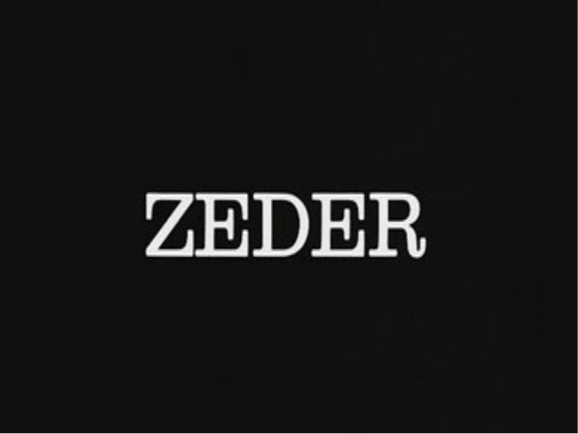 Agenda ●  Perspective  ●  Preliminaries  ●  On complecting  ●  Overview of Zeder  ●  Out of the Tar Pit  ●  A Little Furth...