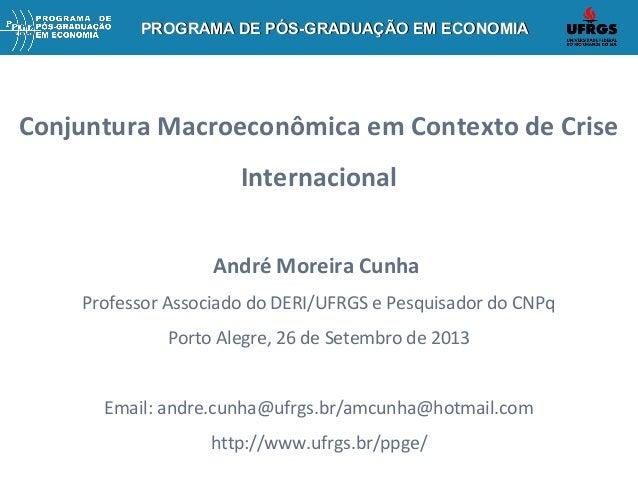 PROGRAMA DE PÓS-GRADUAÇÃO EM ECONOMIAPROGRAMA DE PÓS-GRADUAÇÃO EM ECONOMIAPROGRAMA DE PÓS-GRADUAÇÃO EM ECONOMIAPROGRAMA DE...