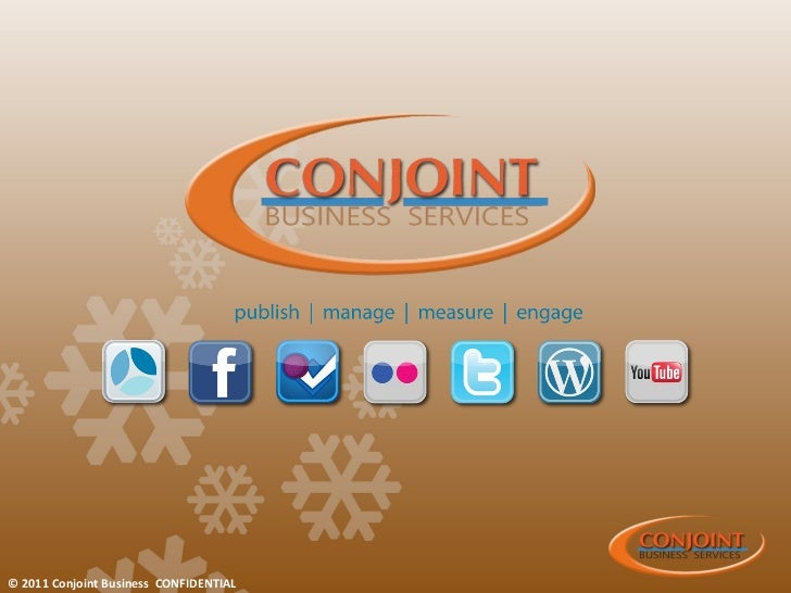 © 2011 Conjoint Business CONFIDENTIAL