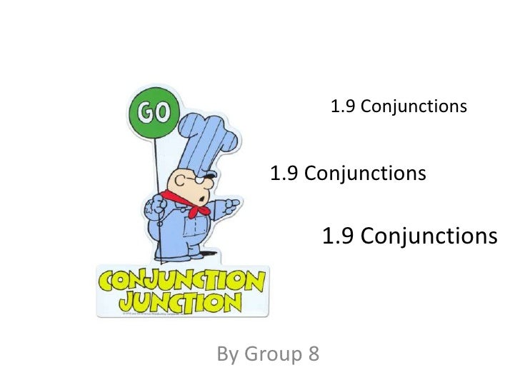 Conjunctions bel120