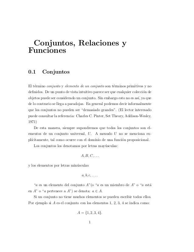 Conjuntos relaciones-funciones