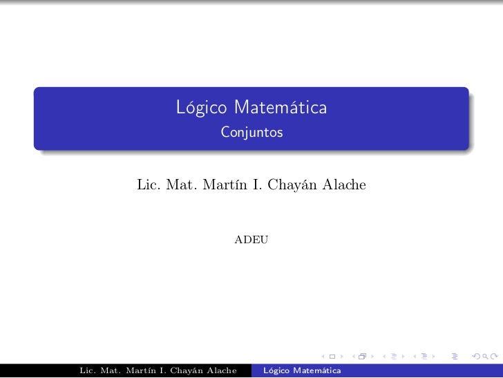 Matemática Conjuntos 5to grado