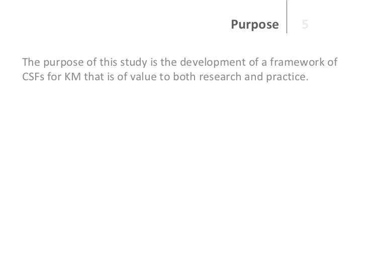 Dissertation knowledge