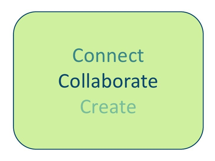 Connect Collaborate   Create
