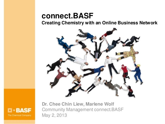 connect.BASFCreating Chemistry with an Online Business NetworkDr. Chee Chin Liew, Marlene WolfCommunity Management connect...