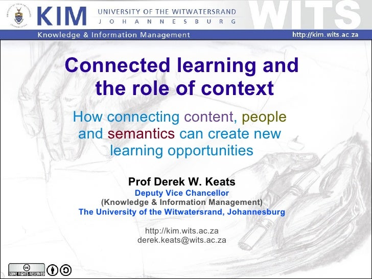 Connected learning and the role of context