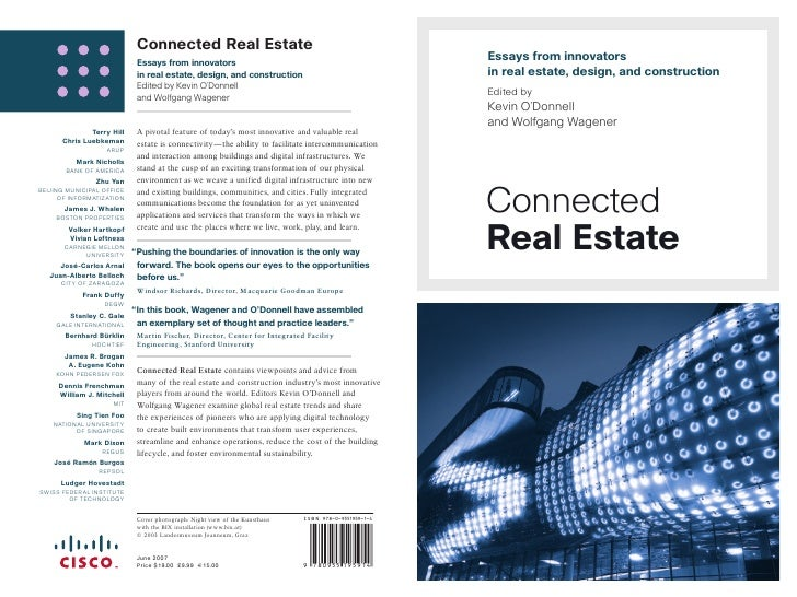 Connected Real Estate                             Essays from innovators                                                  ...