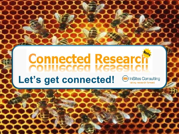 Connected Research Workshop