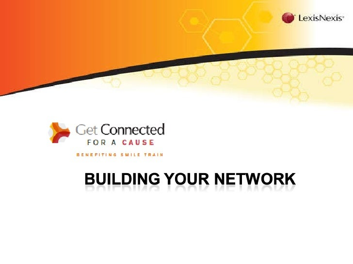 Building your network<br />