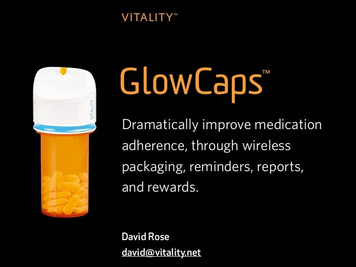 z     Dramatically improve medication     adherence, through wireless     packaging, reminders, reports,     and rewards. ...