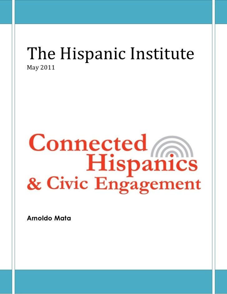 Connected Hispanics and Civic Engagement